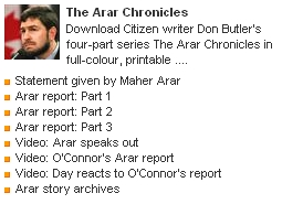 Arar Chronicles from Citizen