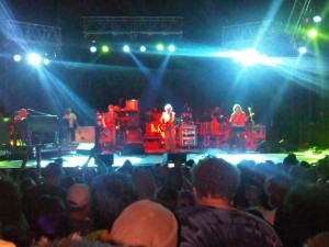 Furthur on Stage at Gelston Castle July 3, 2010